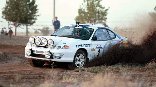 Hyundai Rally Team Photo Gallery